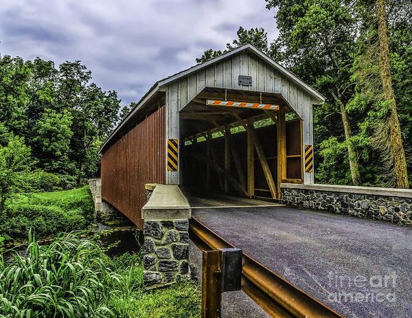 Photograph - Kaufman Covered Bridge - Pa by Nick Zelinsky