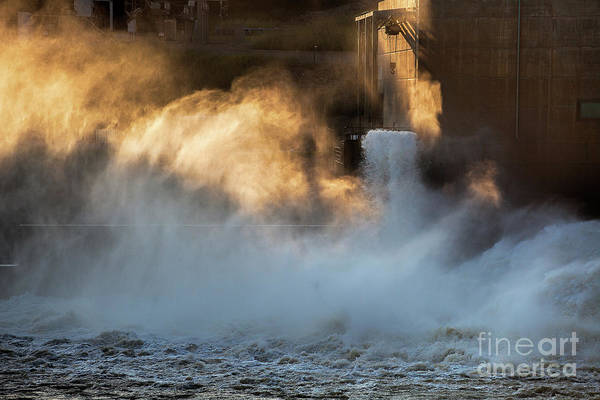 Photograph - Kaw Lake Dam by Jim Garrison