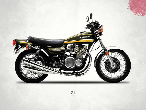 Wall Art - Photograph - Kawasaki Z1 1974 by Mark Rogan