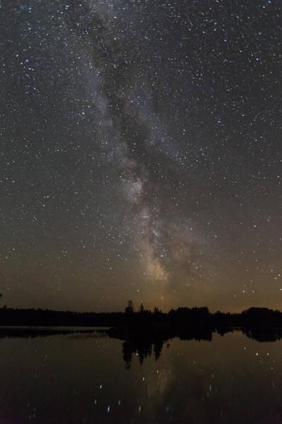 Photograph - Kawishiwi Milky Way by Paul Schultz