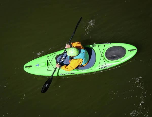 Photograph - Kayak Aerial by Britt Runyon