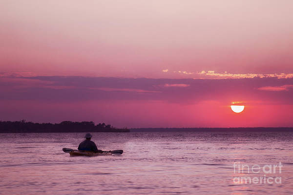 Wall Art - Photograph - Kayak At Sunset by Margie Hurwich