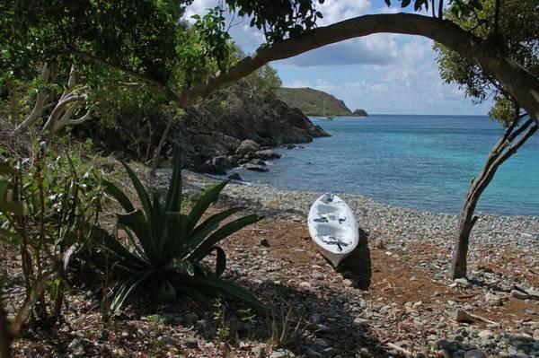 Digital Art - Kayak On The Beach by Michael Thomas