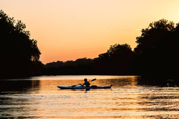 Photograph - Kayak Silhouette by Robert FERD Frank
