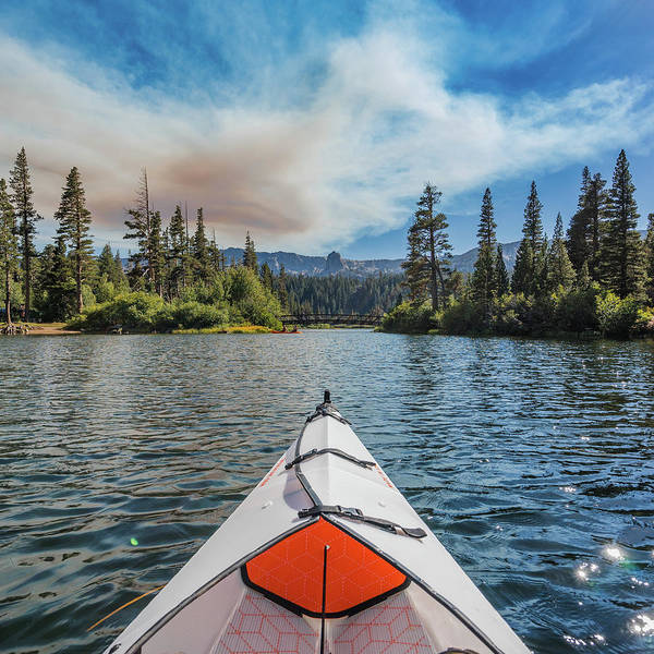 Kayak Views Art Print