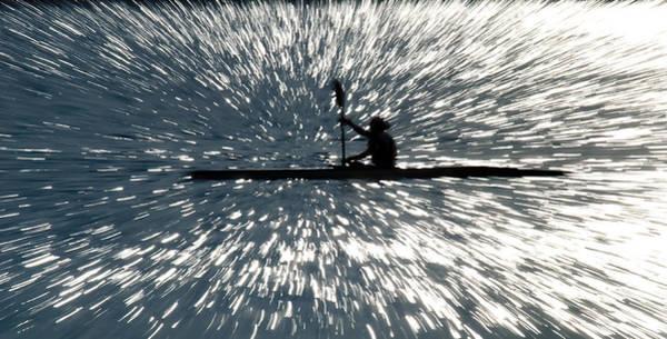 Photograph - Kayak Zoom by Steve Somerville