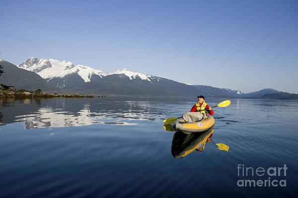 Expanse Photograph - Kayaking Alaskas Favorite Passage by John Hyde - Printscapes