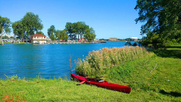 Lighthouse Wall Art - Photograph - Kayaking Canals Of Belle Isle by Michael Rucker