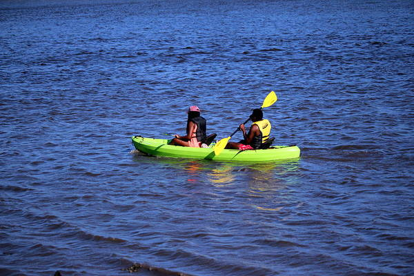 Photograph - Kayaking  by Cynthia Guinn