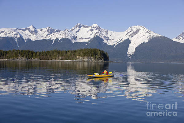 Expanse Photograph - Kayaking In Alaska by John Hyde - Printscapes