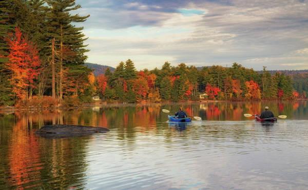 Photograph - Kayaking On A Beautiful Fall Day by Darylann Leonard Photography
