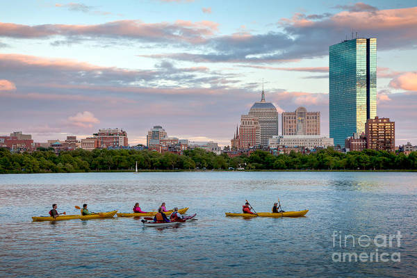 Wall Art - Photograph - Kayaking On The Charles by Susan Cole Kelly