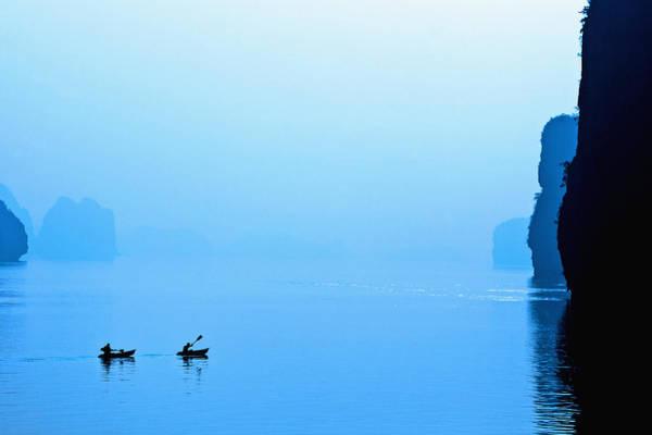 Exuberance Photograph - Kayaking by Skip Nall