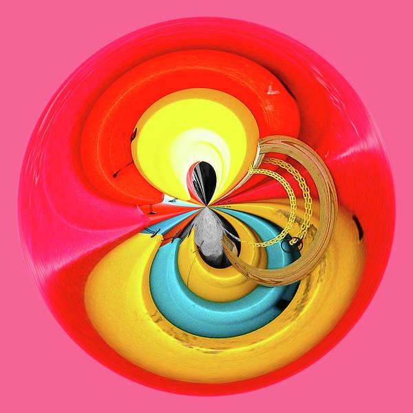 Photograph - Kayaks Orb by Bill Barber