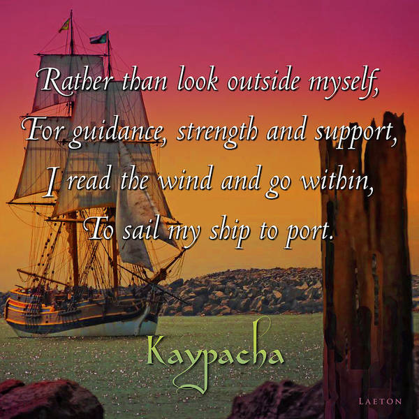 Digital Art - Kaypacha - April 4, 2017 by Richard Laeton