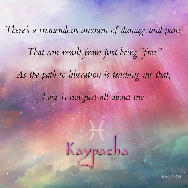 Digital Art - Kaypacha - February 28, 2017 by Richard Laeton