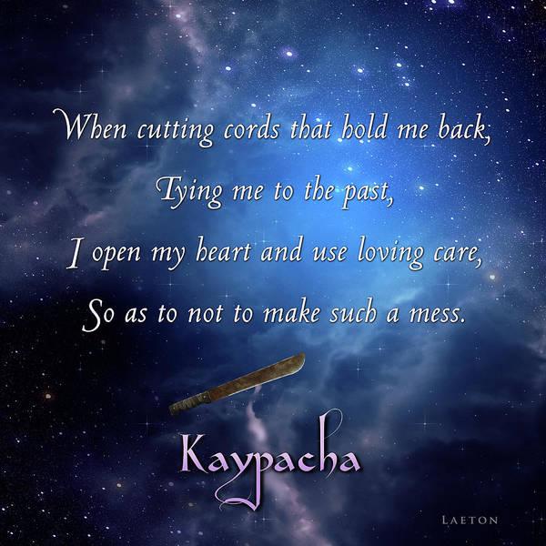 Digital Art - Kaypacha - January 3, 2018 by Richard Laeton