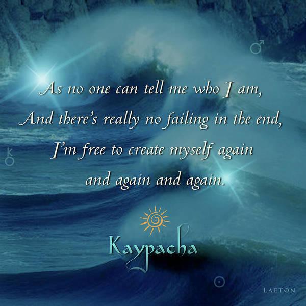 Digital Art - Kaypacha July 13, 2016 by Richard Laeton