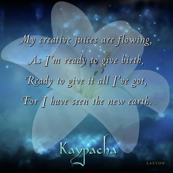 Digital Art - Kaypacha - June 20, 2018 by Richard Laeton