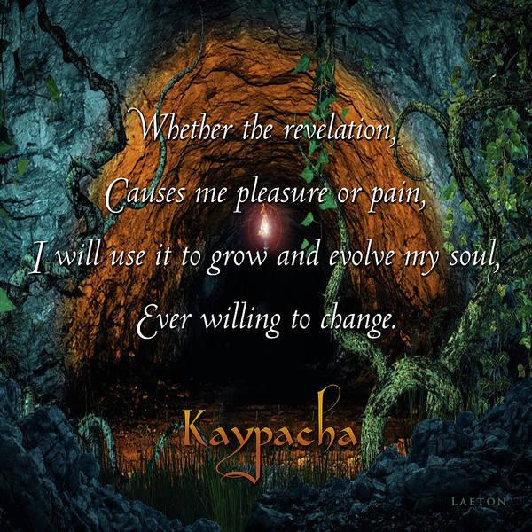 Digital Art - Kaypacha - May 16. 2018 by Richard Laeton