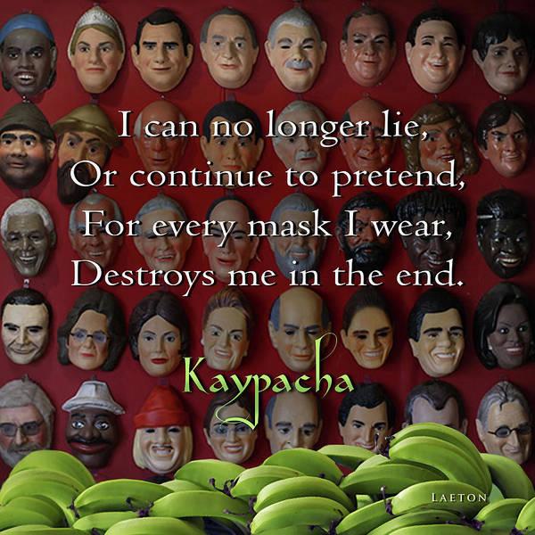 Digital Art - Kaypacha May 25, 2016 by Richard Laeton