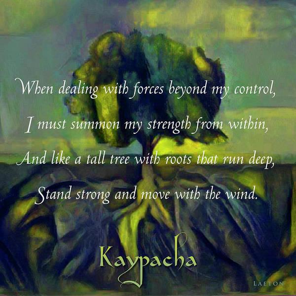 Digital Art - Kaypacha - May 9, 2018 by Richard Laeton