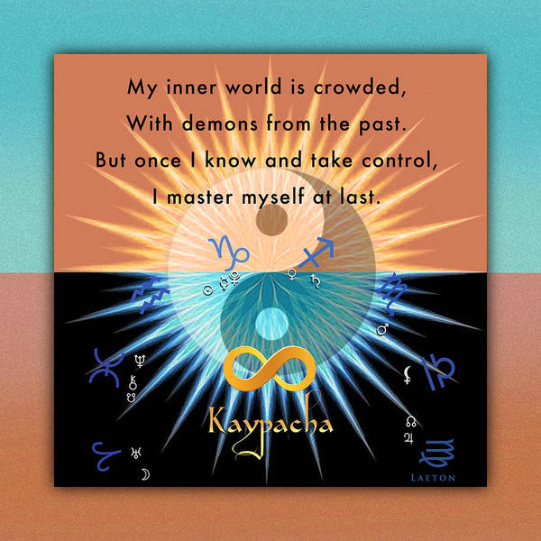 Mixed Media - Kaypacha's Mantra 1.13.2016 by Richard Laeton