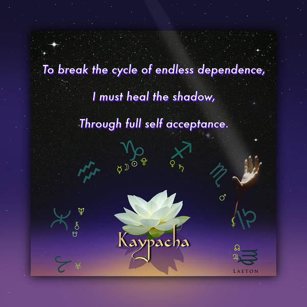 Mixed Media - Kaypacha's Mantra 1.6.2016 by Richard Laeton