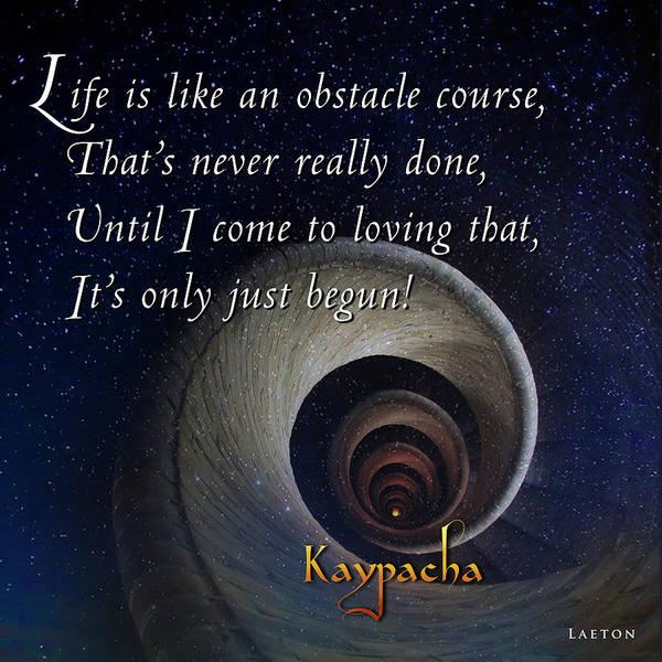 Mixed Media - Kaypacha's Mantra 3.30.2016 by Richard Laeton