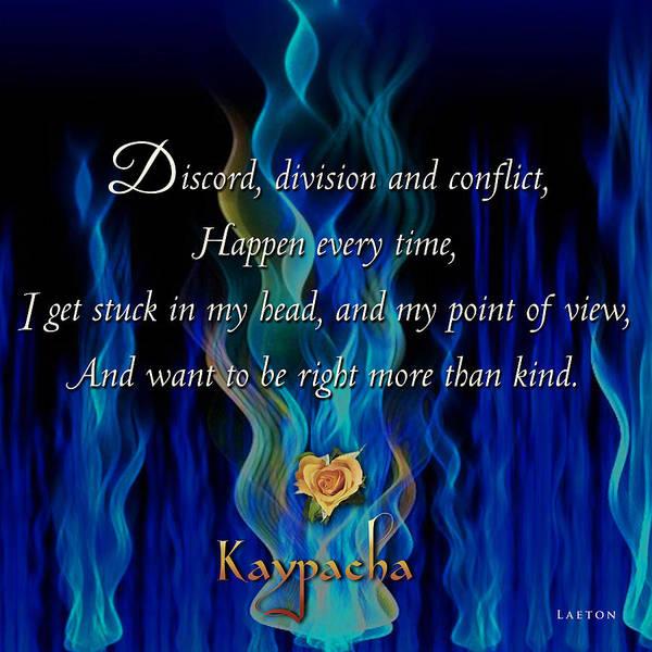 Mixed Media - Kaypacha's Mantra 4.13.2016 by Richard Laeton