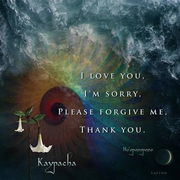Kaypacha's Mantra 7.15.2015 Art Print