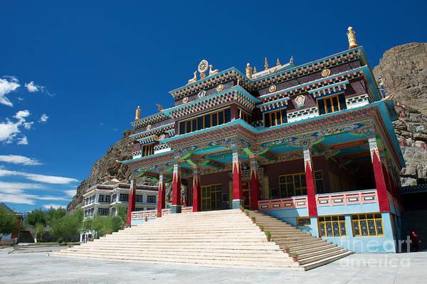 Photograph - Kaza Monastery by Yew Kwang