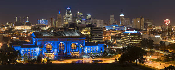 Kc Royal Skyline Art Print