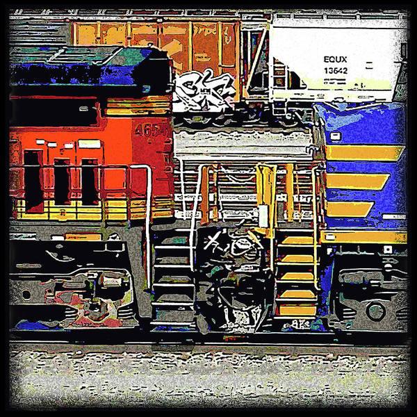 Wall Art - Digital Art - Kc Trains, Union Station by Julie Flanagan