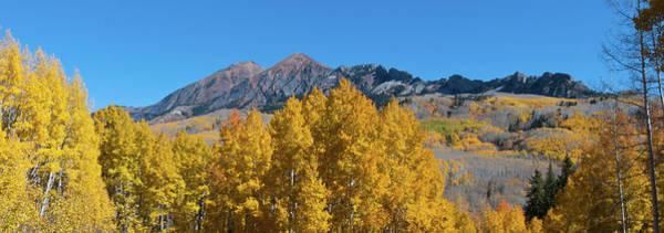 Photograph - Kebler Pass Autumn Panorama by Cascade Colors