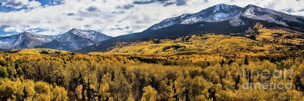 Photograph - Kebler Pass Panorama #2 by Jim Garrison