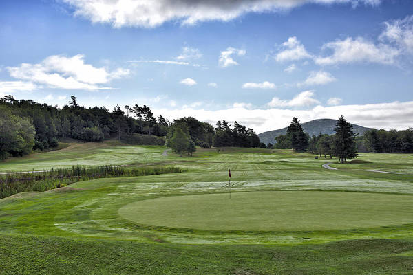 Wall Art - Photograph - Kebo Valley Golf Club In Bar Harbor - Maine by Brendan Reals