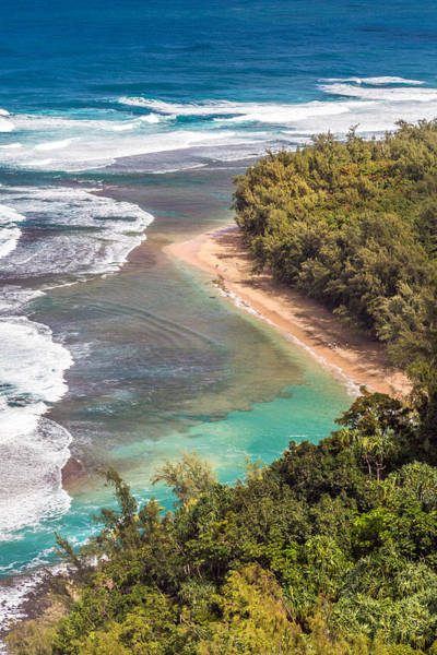 Photograph - Kauai's Kee Beach by Pierre Leclerc Photography