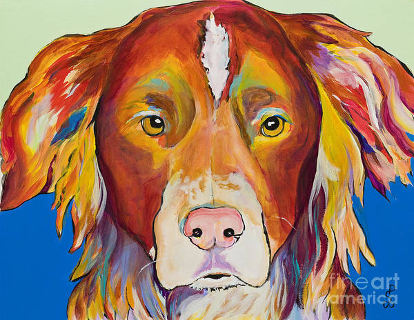 Painting - Keef by Pat Saunders-White