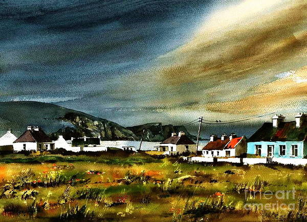 Painting - Keel, Achill, Mayo...2191 by Val Byrne