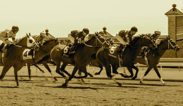 Photograph - Keenland Sepia by Dan Hefle