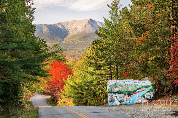 Baxter State Park Photograph - Keep Maine Beautiful by Benjamin Williamson