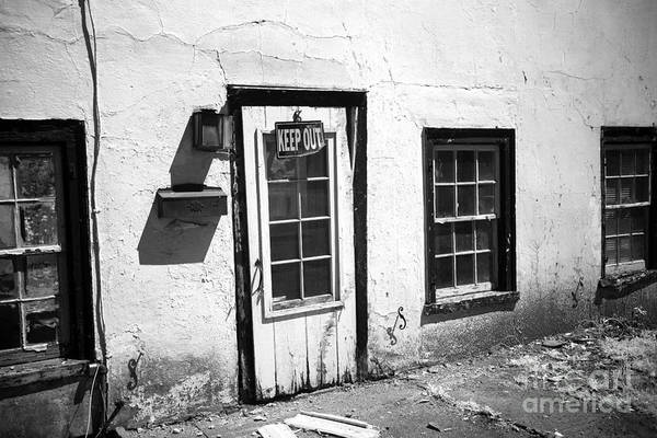 Photograph - Keep Out by John Rizzuto