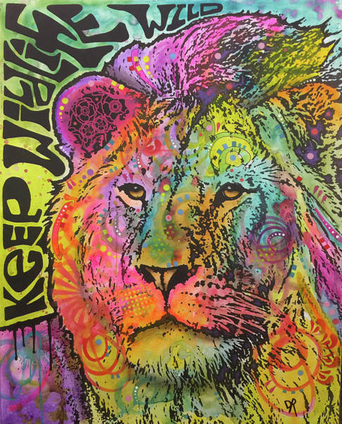 Painting - Keep Wildlife Wild by Dean Russo Art