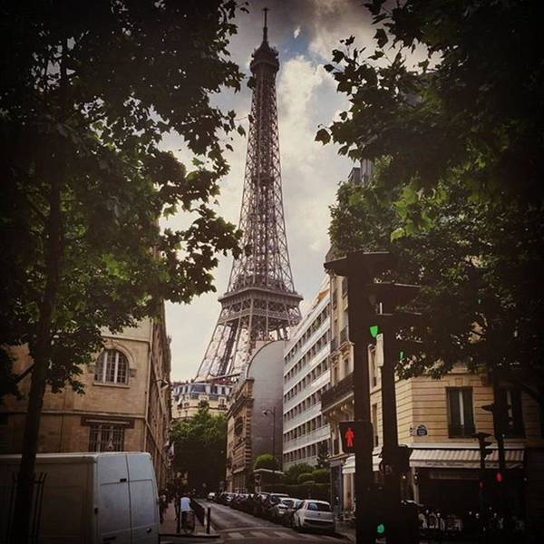 Paris Skyline Wall Art - Photograph - Keep Your Eyes Open Because Beauty Is by Jenny Jen
