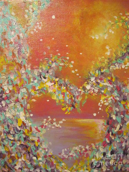 Painting - Keep Your Heart Open by Jacqui Hawk