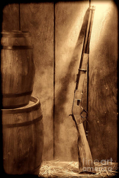 Photograph - Keeping The Stockroom by American West Legend By Olivier Le Queinec