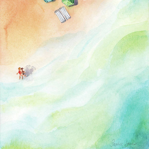 Outer Banks Painting - Keeping Time by Stephie Jones