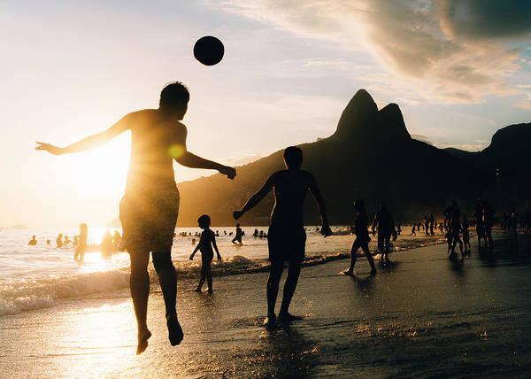 Photograph - Keepy Uppy On Ipanema Beach, Rio De Janeiro, Brazil by Alexandre Rotenberg