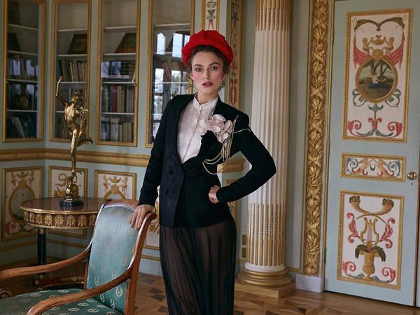 Fashion Digital Art - Keira Knightley by Maye Loeser